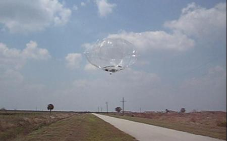 Early prototypes of the solar-powered 'smart' balloons have been tested in the last few months. Three of eight have returned data