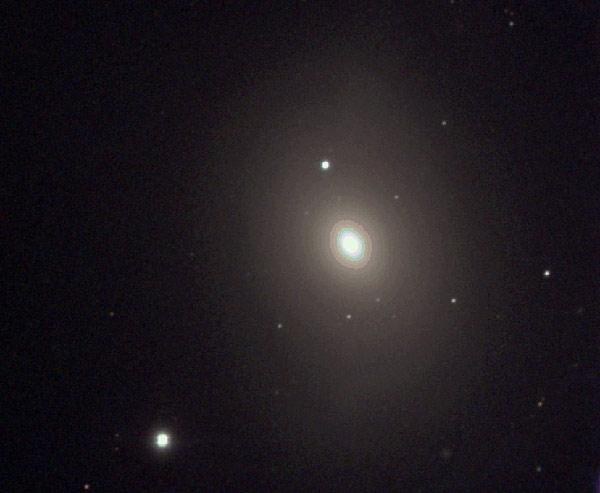 A stellar outburst in this galaxy, M85, may be part of a growing class of intermediate flare-ups