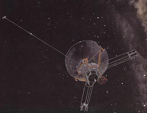NASA's Pioneer 10 and 11 spacecraft are mysteriously drifting off course in their trajectories out of the solar system (Illustration: NASA)