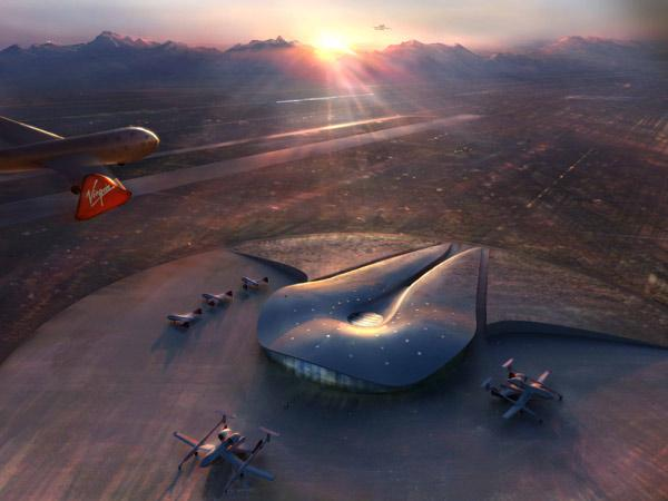 Virgin Galactic will be the spaceport's 'anchor' tenant (Illustration: Spaceport America)