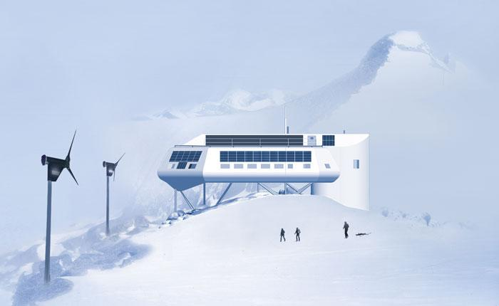 The Princess Elisabeth research station will be the world's first zero-emissions Antarctic research base