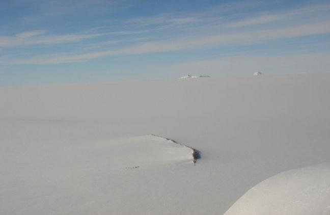 The station will be assembled on a granite ridge in East Antarctica
