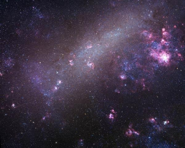 The Large Magellanic Cloud is a new arrival in the Milky Way's neighbourhood, according to the new study
