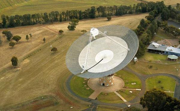 The burst was discovered in six-year-old data taken by the Parkes radio telescope in Australia