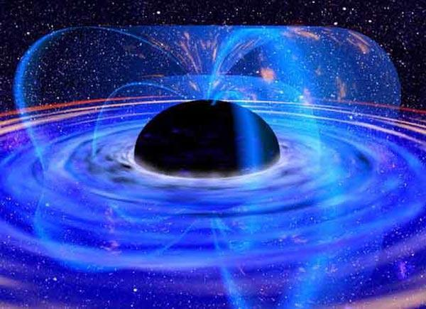 Black holes may contain whole universes inside them, according to a theory called loop quantum gravity (Illustration: XMM-Newton/ESA/NASA)