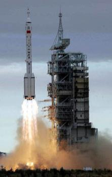 Shenzhou 6 blasts off in 2005