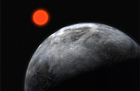 Rocky planets that always show the same face to their host stars could boost their chance of hosting life if they travel on elongated orbits. Such planets rock back and forth, creating twilight zones with temperatures suitable for life (Illustration: ESO)
