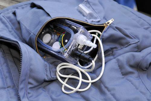 The portable device could shed new light on how environmental conditions affect asthma symptoms
