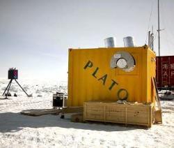 A robotic observatory installed on Dome A in Antarctica will test the site's suitability for observing and search for planets around other stars