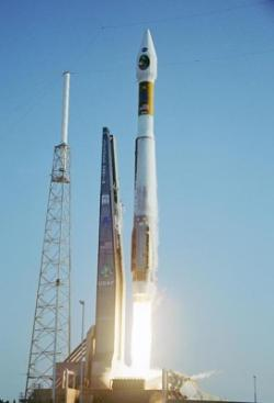 An Atlas V rocket successfully launched the Mars Reconnaissance Orbiter into space in 2005