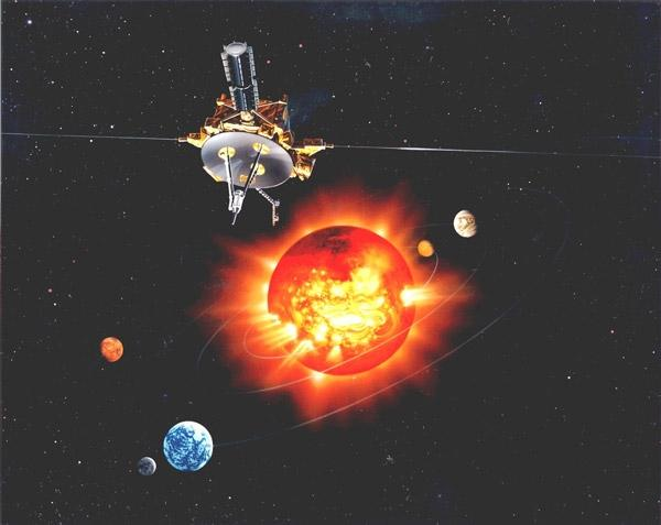The Ulysses spacecraft unlocked secrets of the solar wind and flew through the tails of three comets (Illustration: NASA)