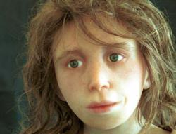 Neanderthals wore make-up and liked to chat
