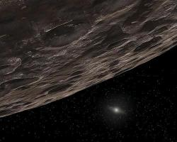 A youthful-looking family of objects has been found in the Kuiper Belt, a ring of icy objects beyond Neptune (Illustration: NASA/JPL-Caltech/T Pyle)