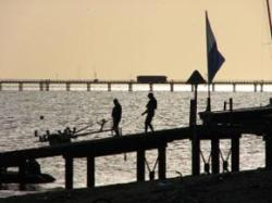 Ozone smog spoils bracing seaside air