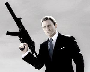 The new James Bond film, Quantum of Solace, opens today