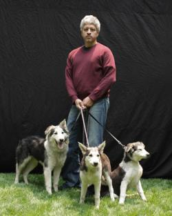 Lou Hawthorne lives with three Missy clones - Mira, Chingu and Sarang