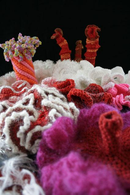 Exhibition: Hyperbolic Crochet Coral Reef