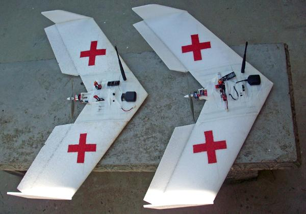 A redesigned military UAV could save lives by ferrying medical samples to far-away labs