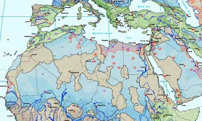 The atlas showing the aquifers of the world may help to provide a legal framework for nations to manage water resources
