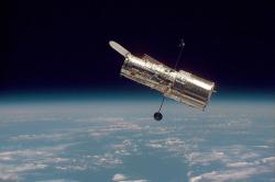 Hubble's Wide-Field Planetary Camera 2 restarted its observations on 25 October