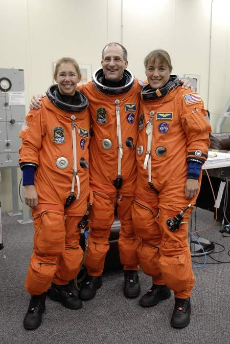 Astronauts Sandra Magnus, Don Pettit and Heidemarie Stefanyshyn-Piper will launch on the next shuttle mission to the International Space Station. Magnus will stay on at the station as a long-duration crew member after Endeavour completes its mission