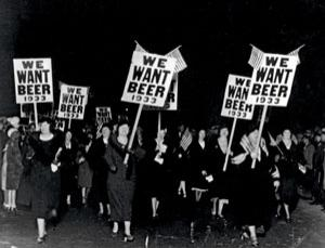 During Prohibition, Americans had to demand the right to drink beer