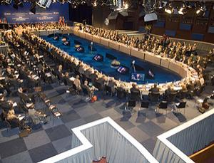 Science ministers from the European Space Agency's 18 member nations met in The Hague to discuss upcoming space plans
