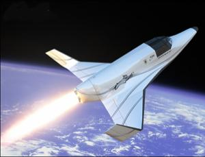 Passengers on the two-seat Lynx spacecraft will experience about a minute of weightlessness; they will be strapped down and wearing spacesuits (Illustration: XCOR Aerospace)