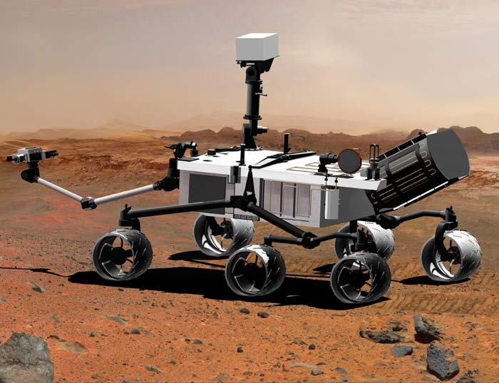 The Mars Science Laboratory will not launch before 2011, due to unresolved technical problems (Illustration: NASA/JPL-Caltech)
