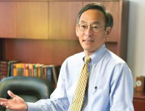 Steven Chu shared the Nobel Prize in Physics in 1997 for figuring out how to chill atoms to a few millionths of a degree above absolute zero