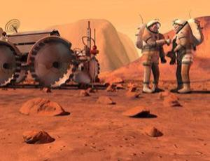 The Obama administration should set a concrete schedule for human Mars missions, says a new report (Illustration: NASA)