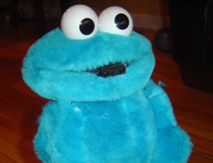 ...and Cookie Monster