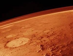 Methane may be produced by microbes below the Martian surface