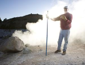 David Deamer thinks hot springs like those in Bumpass Hell, California, hold the key to the emergence of life