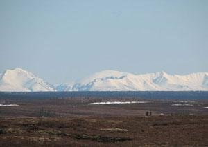 The arctic tundra, shown here looking to the Ural Mountains, periodically releases nitrous oxide (Photo courtesy Pertti Martikainen)