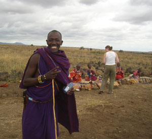 Cellphones are a lucrative opportunity for people living in rural Kenya