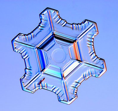 Not all ice crystals are built from hexagons - the new ice rods are the first example of pentagonal ice