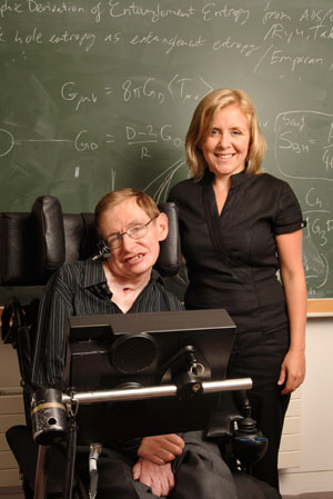 Physicist Stephen Hawking, and his daughter Lucy, are writing children's books about cosmology and physics