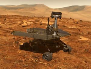 The Spirit rover has operated for more than five years on Mars (Illustration: NASA/JPL-Caltech)