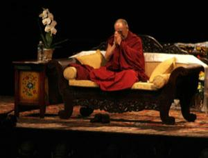 The Dalai Lama challenged scientists to test the visual memory of Buddhist monks