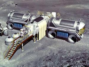 Instead of building a permanent lunar base, NASA may send astronauts on short 'sorties' or excursions (Illustration: NASA)