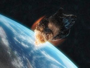 The monster waves created by an small asteroid impact would break before they reached land, but you still wouldn't want to be near one when it hit