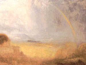 This Turner painting was discovered by restorers, having been painted over, and was proved genuine by forensic techniques, including fingerprint analysis
