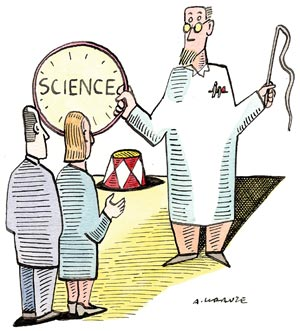 Kathy Sykes fears that good science communication will be drowned out by constant bickering
