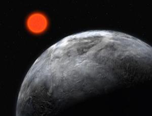 Orange stars live longer than the sun and are less violent than red dwarf stars, making the planets around them good candidates for hosting life (Illustration: ESO)