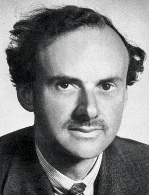 Paul Dirac (1902-1984)won the Nobel Prize in physics in 1933, in part for his work predicting the existence of antimatter