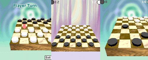 Checkers, also known as draughts, is effectively dead as a game, as a computer program can now play it perfectly