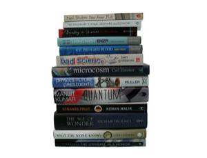 Check out what our reviewers thought of the contenders for this year's Prize for Science Books