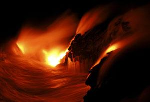 Evidence from distant parts of Earth's crust suggests the core is pulsing, sending up a regular batch of magma to the surface