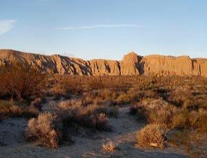 Red Rock Canyon State Park in California could be at risk if Arnold Schwarzenegger's proposed cuts in funding are implemented